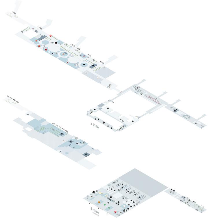Поэтажная схема аэропорта Санкт-Петербурга